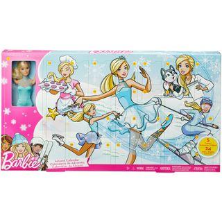 Mädchen Weihnachtskalender.Barbie Fgd01 Adventskalender 2018 Spielzeug Weihnachtskalender Im