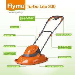 Flymo Turbo Lite 330