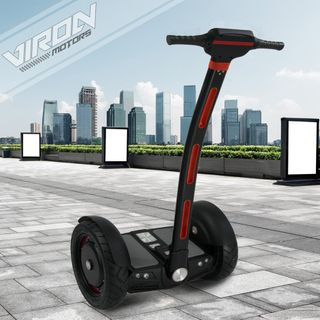 E-Balance Scooter Segwheel 1300W Elektroroller Smart Wheel Elektro E-Skateboard E-Board (schwarz)