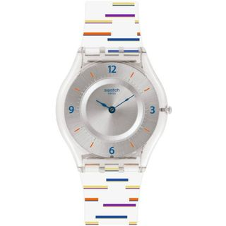 Swatch Damen Digital Quarz Uhr SFE108