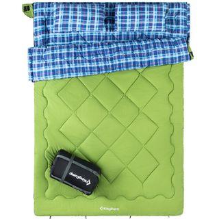 KingCamp Active 250D Extrem komfortabler und Warmer Doppelschlafsack