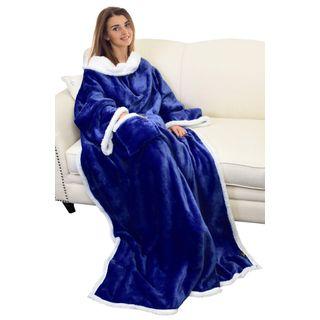 Snuggle Decke Mit ärmeln.Catalonia Platinum Decke Mit Armeln Im Kuscheldecke Mit Armeln