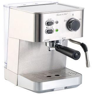 Cucina di Modena Siebträgermaschine: Edelstahl Siebträger-Espressomaschine ES-1050