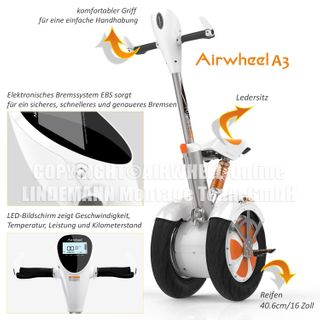 "city-wheel Airwheel A3"" 520 Wh"