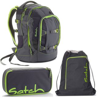 Satch Pack by Ergobag Phantom 3er Set Schulrucksack