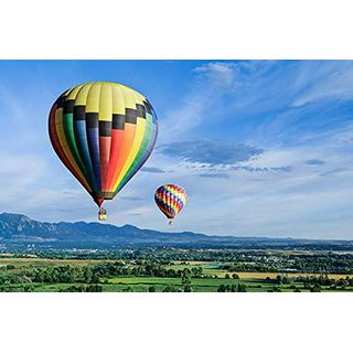 Jochen Schweizer Geschenkgutschein: Ballonfahrt & Trekking im Thurgau