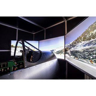 Jochen Schweizer Geschenkgutschein: Historische Jagdflugzeuge Simulator