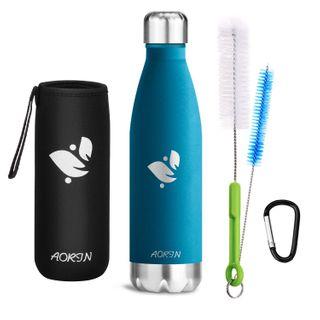 Aorin Vakuum-Isolierte Trinkflasche Edelstahl