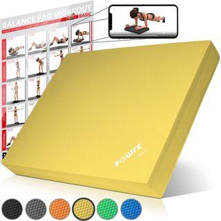POWRX Balance Pad Sitzkissen/Kissen Yoga Pilates