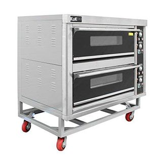 Elektro Pizzaofen Pizza Ofen Backofen 2 Backkammern