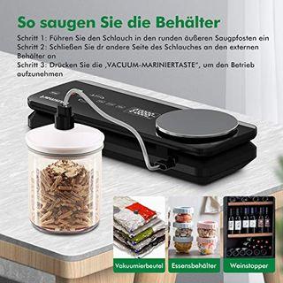 Vakuumierer Blusmart 0.8 Bar Vollautomatisches Vakuumiergerät