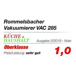 Rommelsbacher Vakuumierer VAC 285 Absaugleistung 9 Liter