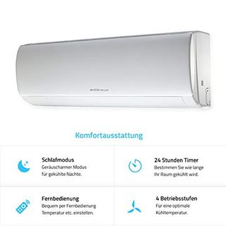 Home Deluxe Klimaanlage SET Split XL