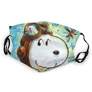 Snoopy Explorer Mundschutz Anti-Staub Waschbar Wiederverwendbarer