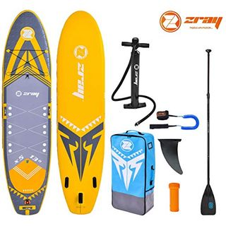 Zray X-Rider 13.0 X5 Family XL SUP Board Carbon Mix Paddel Leash 396x91x15cm