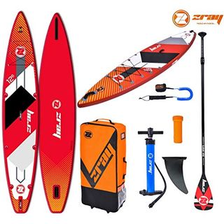 "Zray RC1 Touring Race 12'6"" SUP Board Stand Up Paddle Surf-Board aufblasbar"