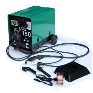 Hst MIG MAG Schweißgerät 150 Ampere Schutzgas Schweissgerät schweißt