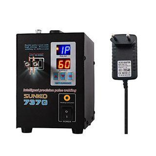 KKmoon Schweißgerät Dualmodus Pedal Battery Spot Schweißer