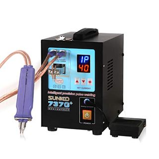 Hanchen Pulse Spot Welder 4,3 KW Hochleistungsbatterie Tragbarer Griff