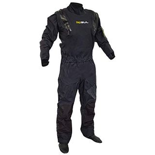 GUL Code Zero Stretch U-Zip Drysuit Dry in Schwarz