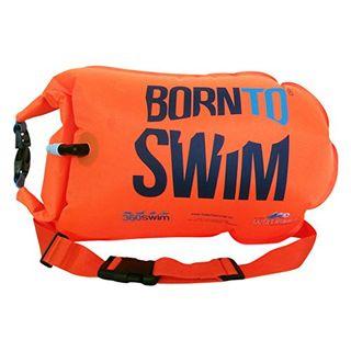 BornToSwim Unisex-Adult Safer Swimmer Trockentasche und Schwimmboje