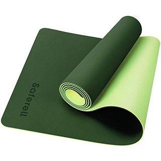 Saferell Yogamatte Gymnastikmatte rutschfeste aus TPE