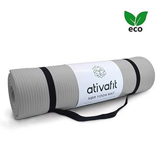 ATIVAFIT Phthalatfreie Yogamatte rutschfest und gelenkschonend Sportmatte