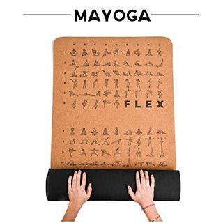MAYOGA MAYOGA-Yogamatte aus Kork