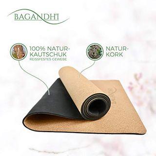 Bagandhi Yoga Matte Naturkork
