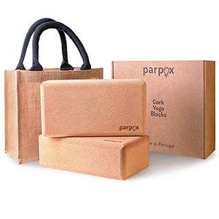 Parpox Premium Yoga Block Kork Set