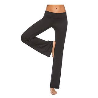 Sfigur Yogahose Damen lang Yoga Hose Yogahosen Joga Pilates