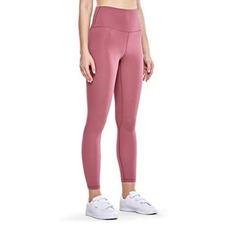 CRZ YOGA Damen Hohe Taille Sport Leggings Fitness Hosen