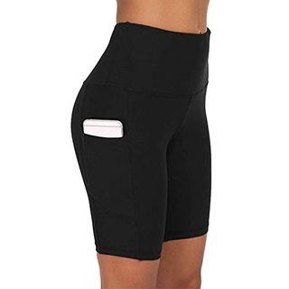 COTOP Damen Kurze Yoga Hosen Hohe Taille Joggen Sport Leggings