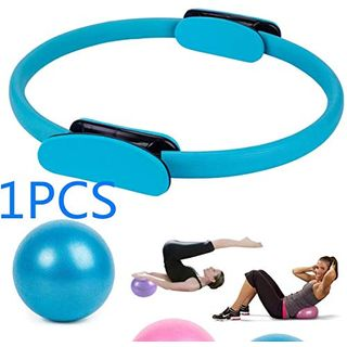 Guyuy Pilates-Ring und 25 cm Mini Fitness Balance Yoga Ball