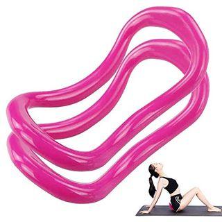 yyuezhi Yoga Dual Grip Magic Übungskreis Verstellbarer Yoga