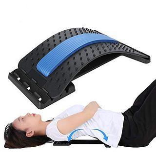 HURRISE Rückendehner Schmerzlinderung und Muskelerholung Akupressurmatte
