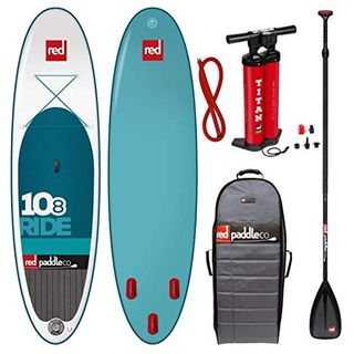 Red Paddle Set 10.8' inkl. Paddel Familienboard TenEight Surfer RedAir SUP Board