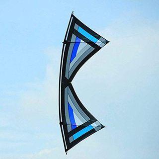 FEOPW Kites Draussen Spielzeug Kite 2.4m Bahnstrom Lenkdrachen