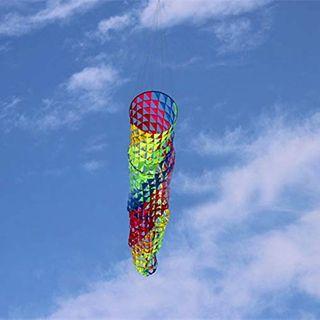 FEN Hochwertige 5M Bunte Wind Socken Drachen So schön Ripstop