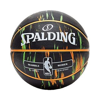 Spalding NBA Marble Out Basketball