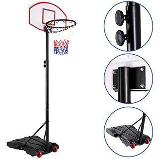 Sportana Basketballkorb 179-209cm Ringhöhe verstellbar 30kg