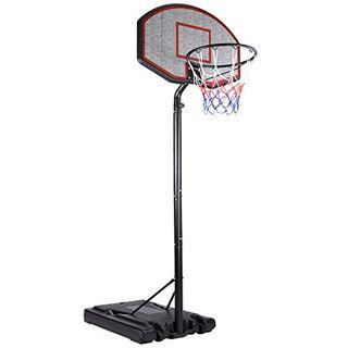 Deuba Mobiler Basketballkorb mit Rollen
