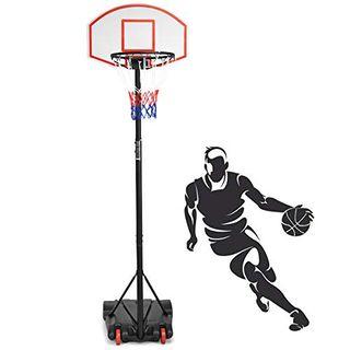 DREAMADE Basketballkorb mit Ständer für Kinder
