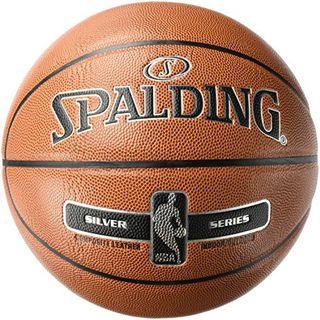 Spalding NBA Silver Basketball Ball