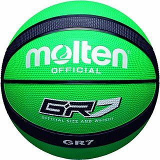 Molten Basketball grün schwarz