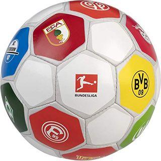 Derbystar Bundesliga Clublogo Pro Fußball weiß