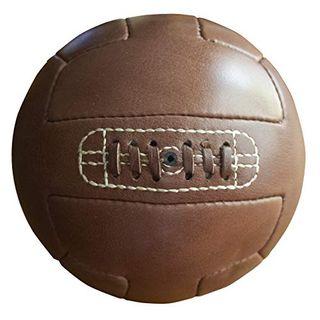 Vintage Soccer Authentischer Leder-Vintage-Fußball