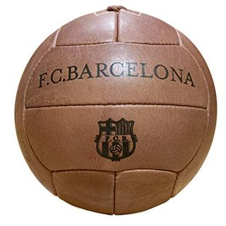 FC Barcelona Vintage Ball aus echtem Leder
