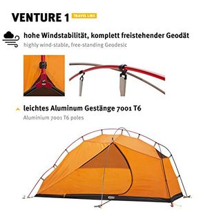 Wechsel Tents Geodät Zelt Venture 1 Person Solozelt im Zelt