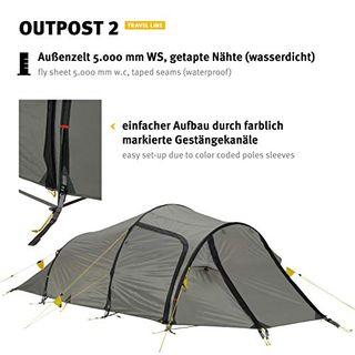 Wechsel Tents Tunnelzelt Outpost 2 im Zelt von Wechsel